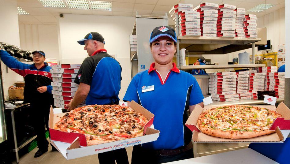 работа в Domino's Pizza