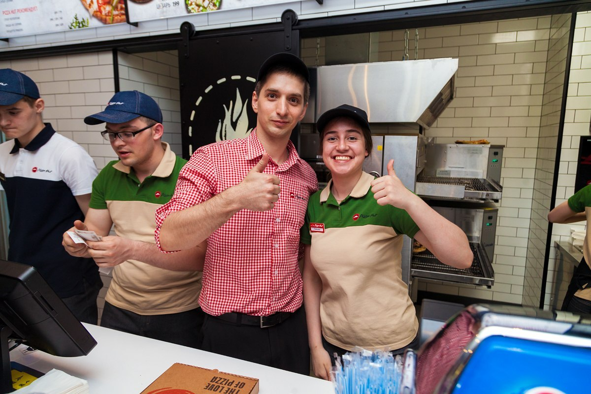 преимущества работы в Pizza Hut