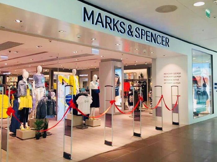 работа в Marks & Spencer