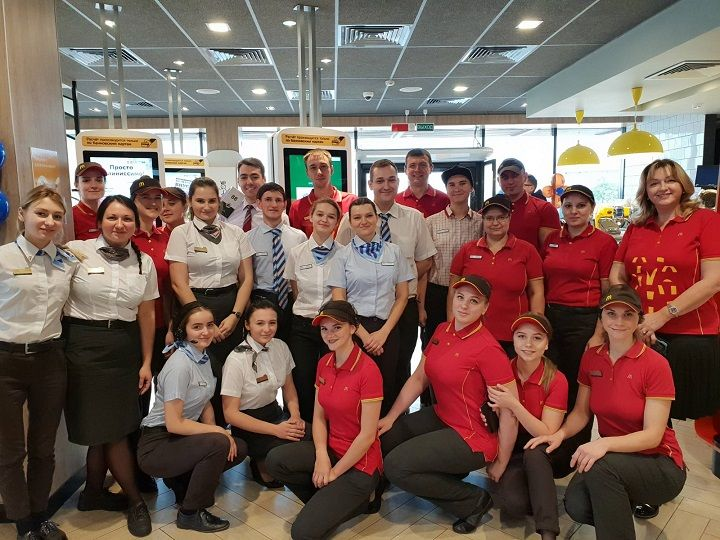 вакансии McDonald's