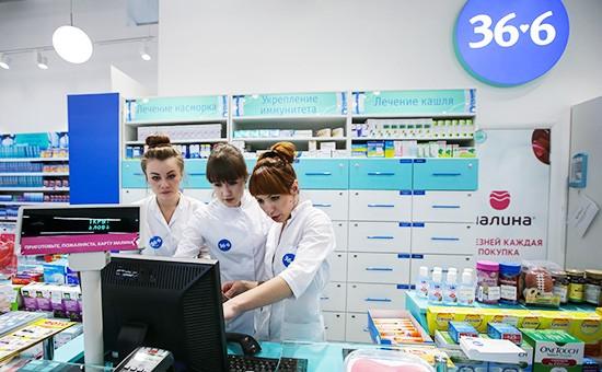 работа в Аптека 36,6